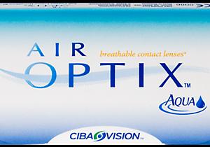 AIR OPTIX AQUA lentes de contacto para miopía e hipermetropía con los que se puede dormir.