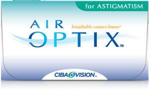 AIR OPTIX ASTIGMATISMO Lentes de contacto toricos de reemplazo mensual con los que puedes dormir.