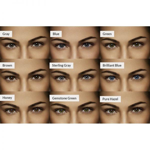 Lentes de contacto de colores para corregir miopía e hipermetropía