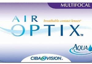 Air Optix Aqua Multifocal, Lentes de contacto para presbicia con los que se puede dormir.