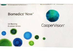 Biomedics Now de Coopervision, lentes de contacto para Miopía