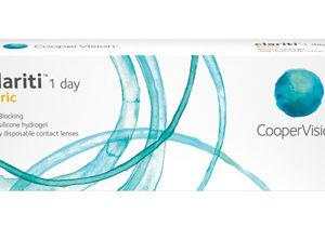 CLARITI 1 DAY TORIC de Coopervision, lentes de contacto para astigmatismo