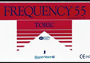 Lentes de contacto FREQUENCY 55 TORIC XR (CB - 8.7) para Astigmatismo