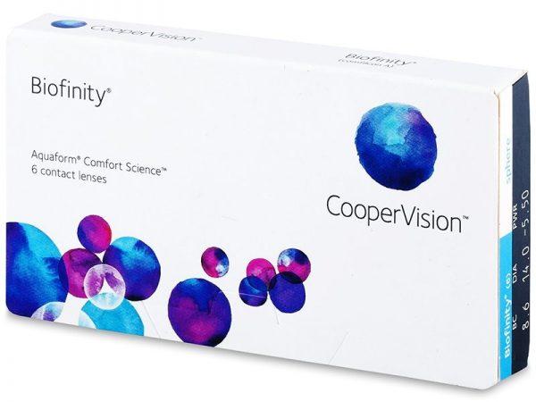 BIOFINITY, Lentes de contacto para la miopía e hipermetropía.