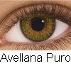 PUPILENTES FRESH LOOK COLORS BLENDS, Lentes de contacto de color Avellana puro