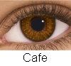PUPILENTES FRESH LOOK COLORS BLENDS, Lentes de contacto de color Cafe