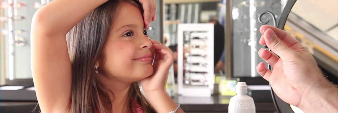 Armazones de lentes para niños, lentes de contacto para niños