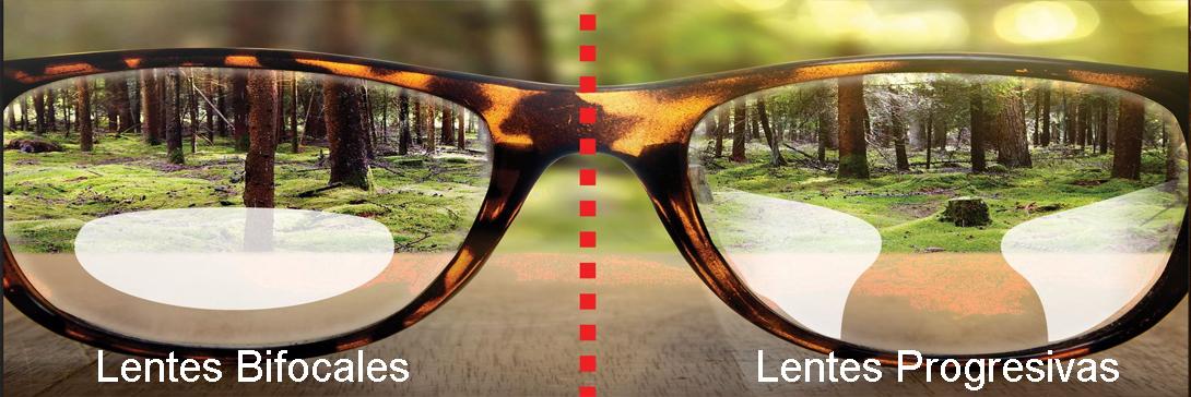 Lentes bifocales, lentes para mayores de 40 años
