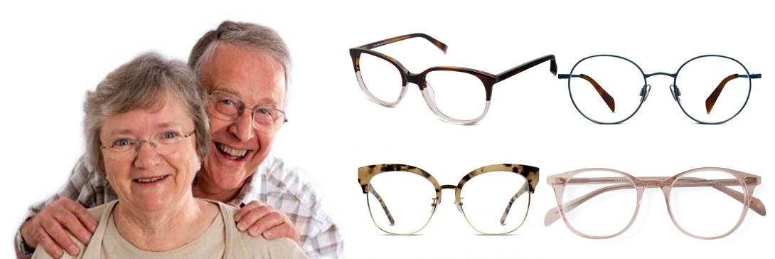 Lentes para mayores de 60 años