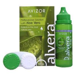 Alvera 60 ml, Solución multiproposito para lentes de contacto.