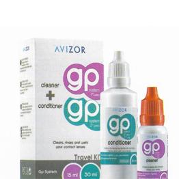 Avizor GP System, para limpieza y humectación de lentes de contacto rigidos