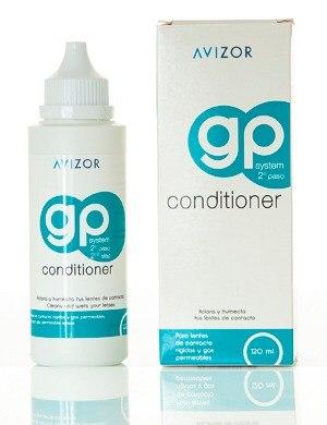 GP Conditioner 120 ml, Solucion humectante para lentes rigidos