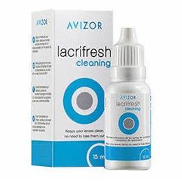 Lacrifresh cleaning 15 ml, Gotas limpiadoras y lubricantes