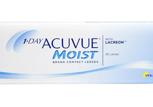 1 Day Acuvue Moist, lentes de contacto esfericos desechables