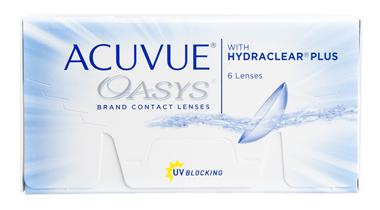 Acuvue Oasys, lentes de contacto blandos quincenales