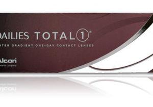Dailies Total 1, lentes de contacto desechables paquete con 30