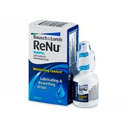 Renu multiplus 8ml, gotas lubricantes y rehumectantes